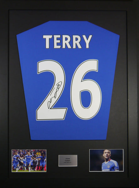 John Terry Chelsea Signed Shirt Display With COA