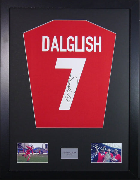 Kenny Dalglish Liverpool Signed Shirt