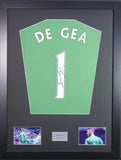 David De Gea Manchester United Signed Shirt Display With COA