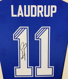 Gascoigne and Laudrup Rangers Signed Shirt Display with COA
