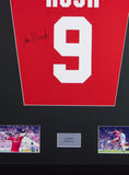 Ian Rush Liverpool Signed Shirt Display With COA - Kicking The Balls
