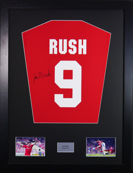 Ian Rush Liverpool Signed Shirt