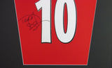 Teddy Sherringham Manchester United Signed Shirt Display With COA