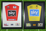 Bradley Wiggins Signed Shirt Display With COA with Free Chris Froome Display