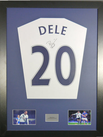 Dele Alli Tottenham Hotspur Signed Shirt Display With COA