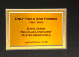 Only Fools and Horses signed montage 1 of 50 Display With COA Limited Edition - Kicking The Balls