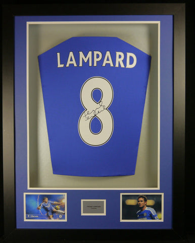 Frank Lampard Signed Chelsea Shirt – Frame It 3c6905750