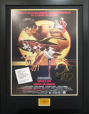 Bruce Lee Game of Death Signed Movie Poster with COA - Kicking The Balls