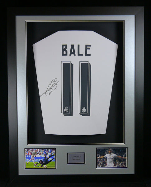 Gareth Bale Real Madrid Signed Shirt