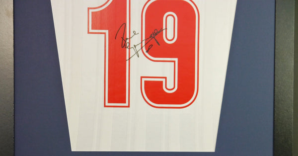 Paul Gascoigne England Signed Shirt Display With COA