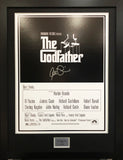 The Godfather Al Pacino Signed Movie Poster with COA - Kicking The Balls