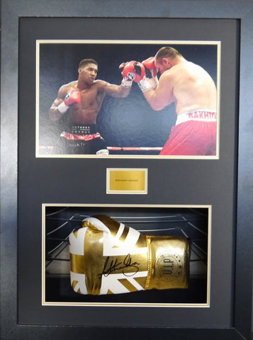 Anthony Joshua limited edition Signed Glove