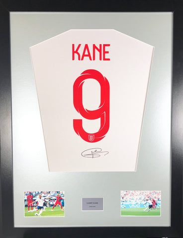 Harry Kane England World Cup 2018 Signed Shirt Display With COA - Kicking The Balls