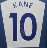 Gareth Bale and Harry Kane Signed Tottenham Hotspur Shirt Display with COA