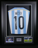 Lionel Messi Argentina Signed Shirt