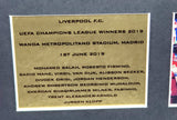 Liverpool Istanbul 05 and Madrid 19 Champ League Signed Shirt Display with COA - Kicking The Balls