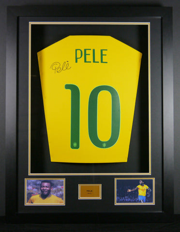 Pele Brazil Signed Shirt