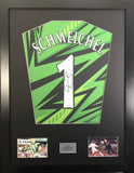Peter Schmeichel Manchester United Signed Shirt Display With COA