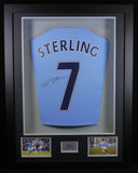 Raheem Sterling Manchester City Signed Shirt