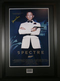 Spectre Daniel Craig framed movie poster with COA - Kicking The Balls