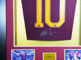 Francesco Totti Roma Signed Shirt 3D Display with COA - Kicking The Balls