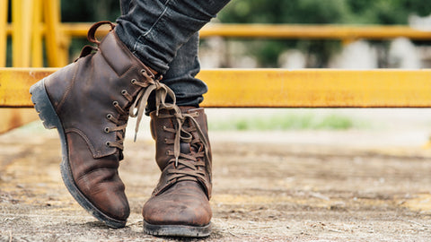 Men in 2019: Exotic Leather Boots