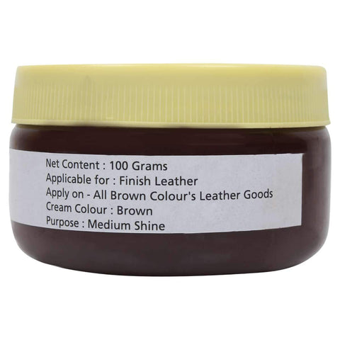 SeeandWear Brown Leather Shoes and Jacket Polish - SeeandWear