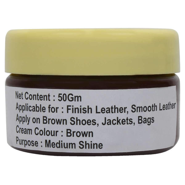 SeeandWear Medium Shine Brown Leather Shoe Polish - SeeandWear