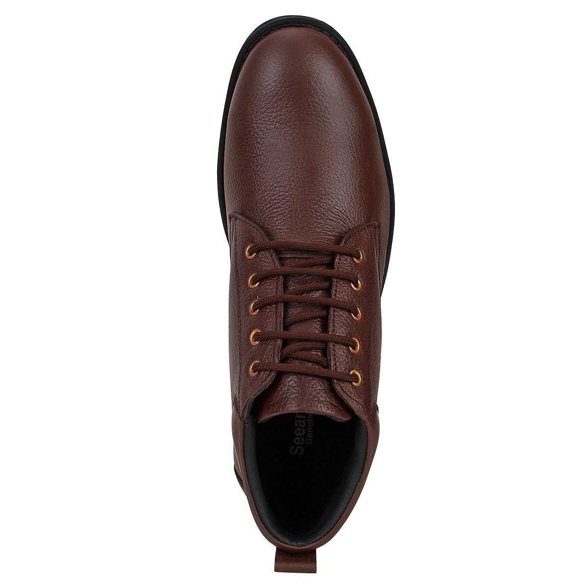Leather Ankle Boots for Men
