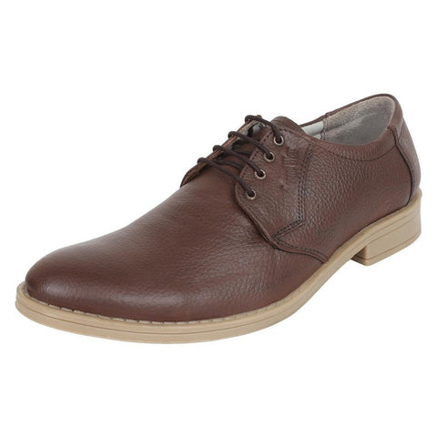 SeeandWear Formal Shoes For Men. Branded Leather Shoes Brown Colour - Minor Defect - SeeandWear