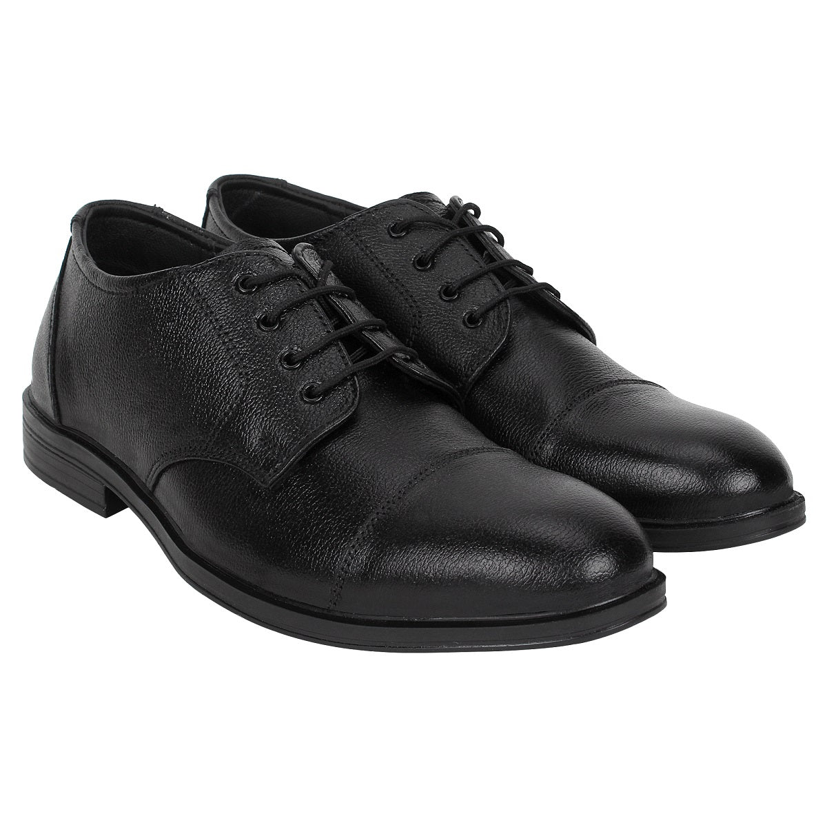 SeeandWear Leather Toe Cap Formal Shoes