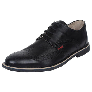 SeeandWear Black Formal Brogue Shoes For Men.