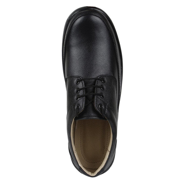 SeeandWear Formal Shoes For Men. Genuine Leather Black Office Wear Shoes. - SeeandWear