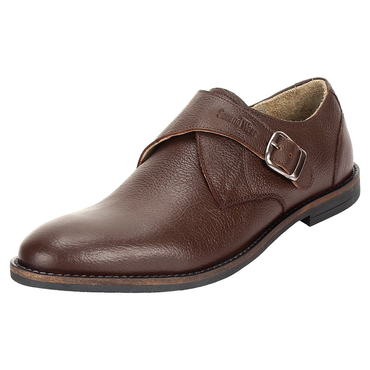 SeeandWear Brown Monk Strap Shoes - Minor Defect - SeeandWear