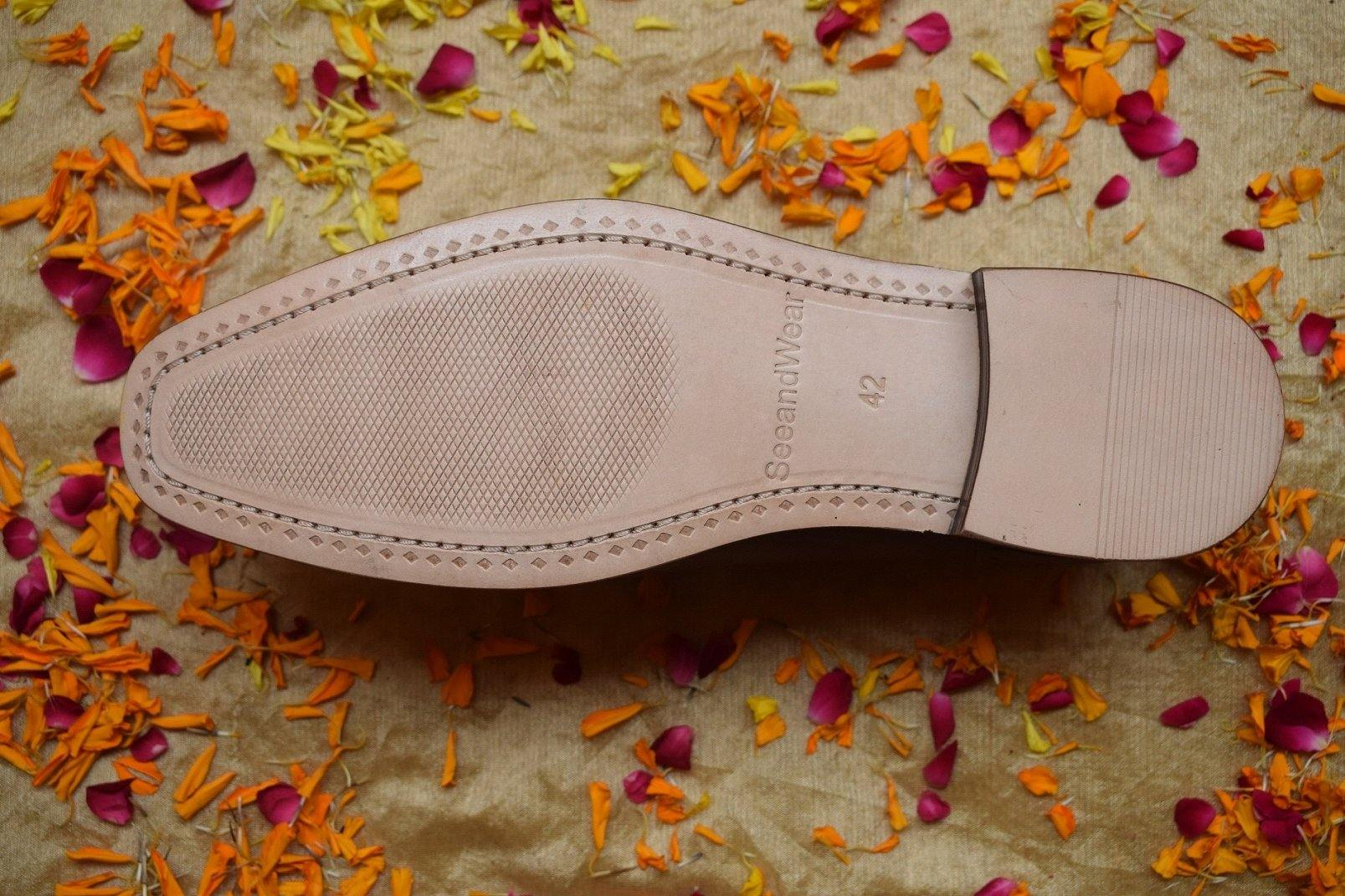 SeeandWear Luxury Decorated Stitched Handmade Shoes for Men - SeeandWear