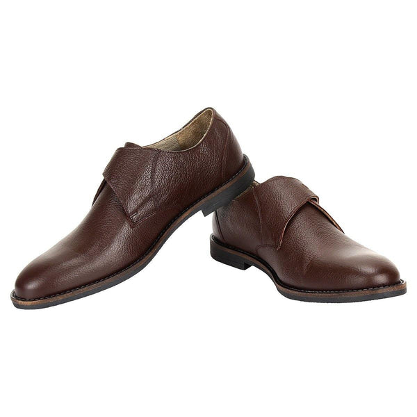 SeeandWear Brown Monk Strap Shoes - SeeandWear