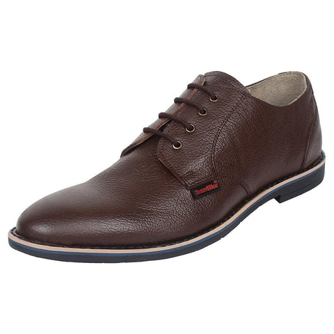 SeeandWear Brown Formal Shoes for Men