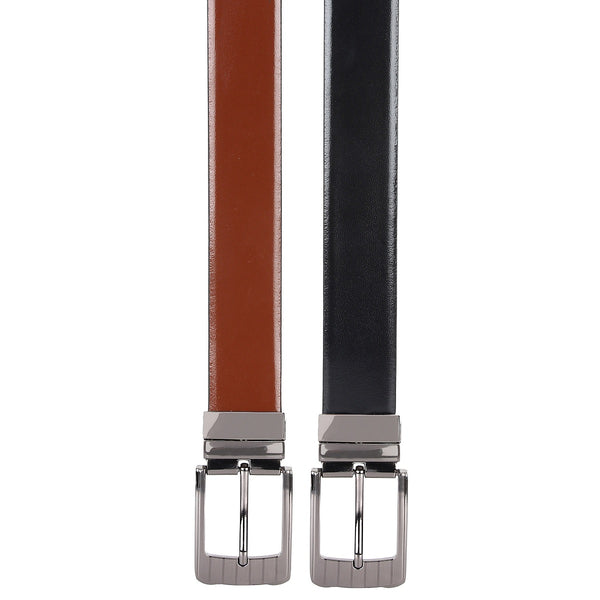 SeeandWear Reversible Formal Belt for Men (34MM Wide) - SeeandWear