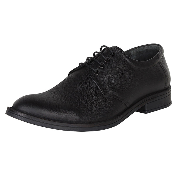 SeeandWear Genuine Leather Black Formal Shoes For Men - Minor Defect - SeeandWear