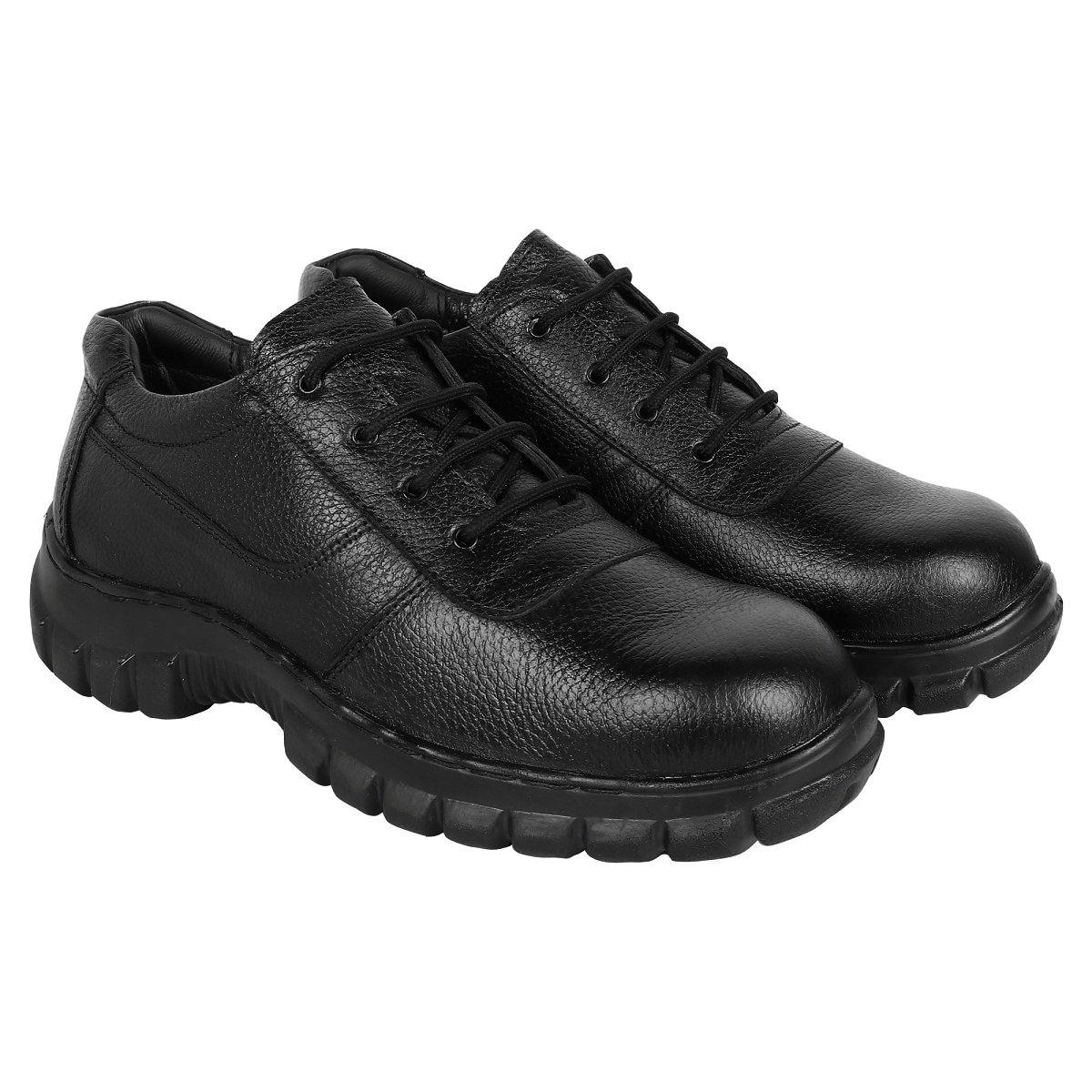 leather Shoes for Men ( Steel Toe)- Minor Defect