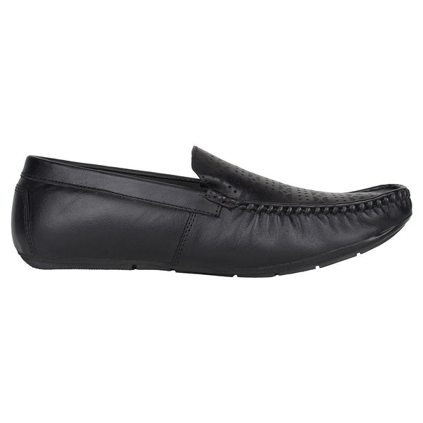 SeeandWear Laser Engraved Leather Loafers for Men
