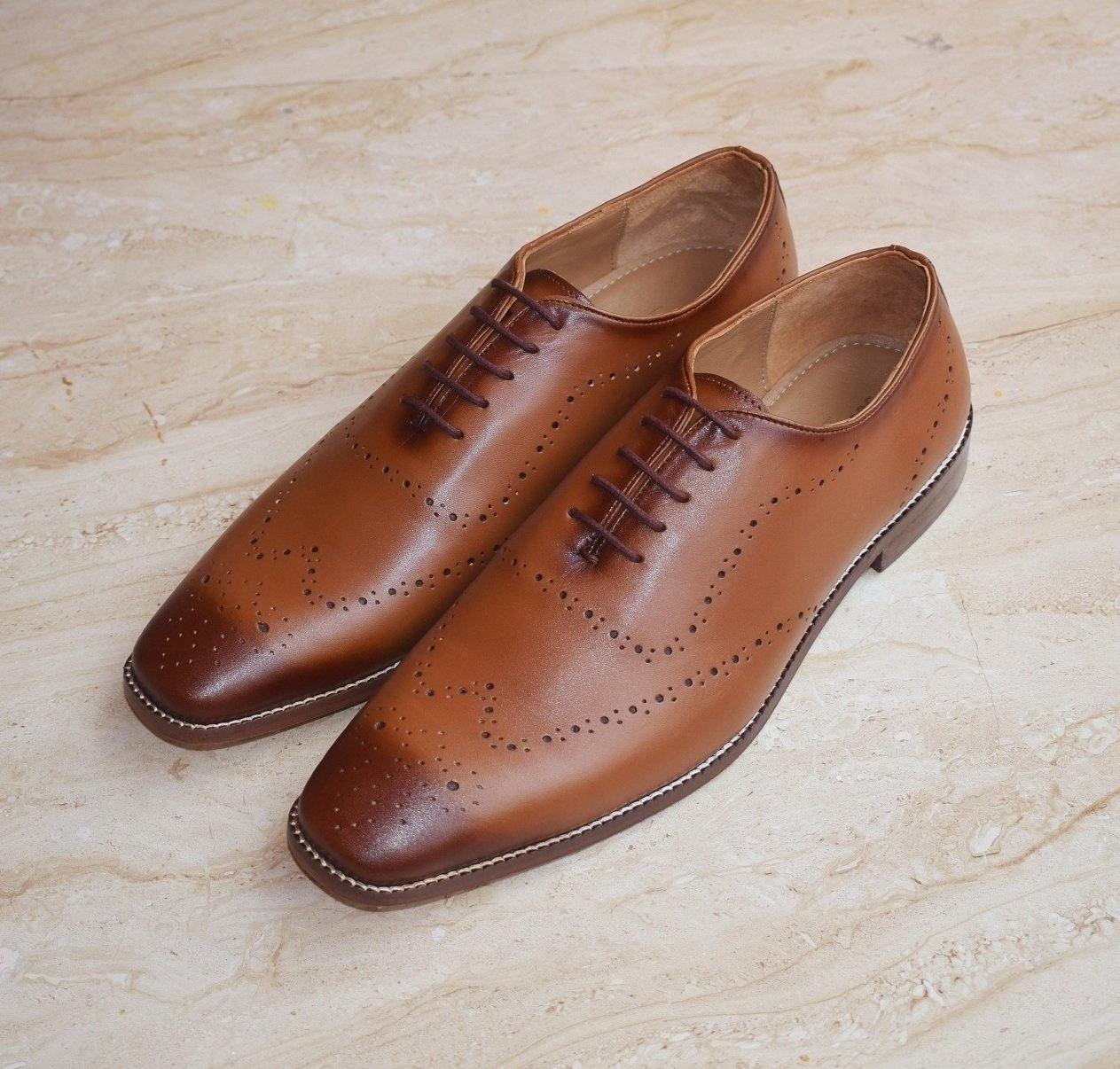 SeeandWear Luxury Designer Brogue Shoes for Men - SeeandWear