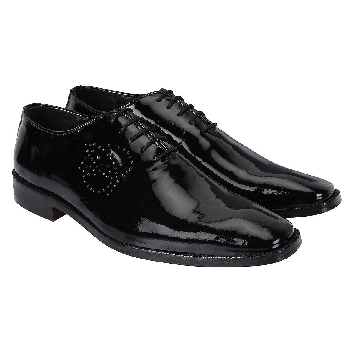 SeeandWear Luxury Patent Leather Shoes for Men - SeeandWear