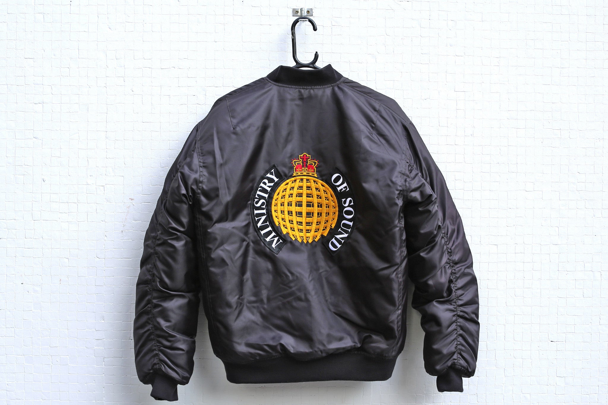 '91 Black Bomber Jacket - Ministry of Sound Store
