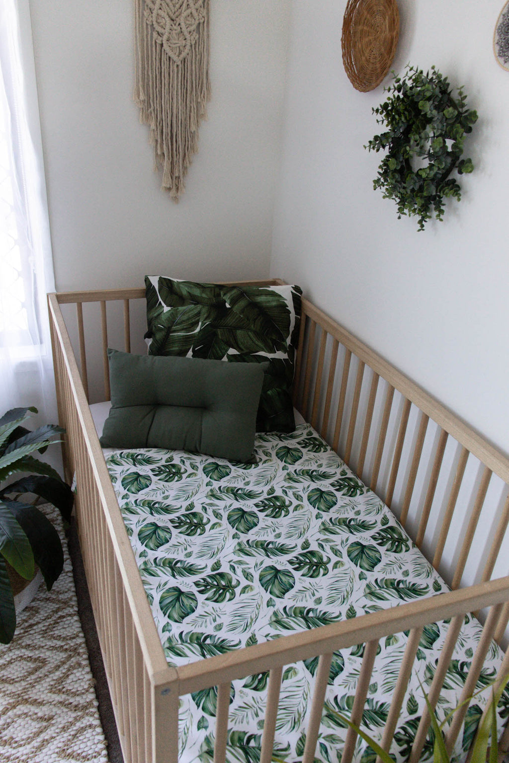 'The Tropical Two Play Mat/Cot Quilt