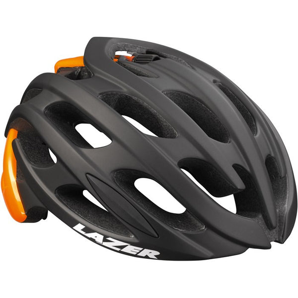 Lazer Blade Black Flash Orange - Medium