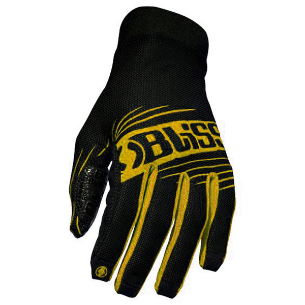 Bliss Protection Minimalist Glove - Black/Yellow