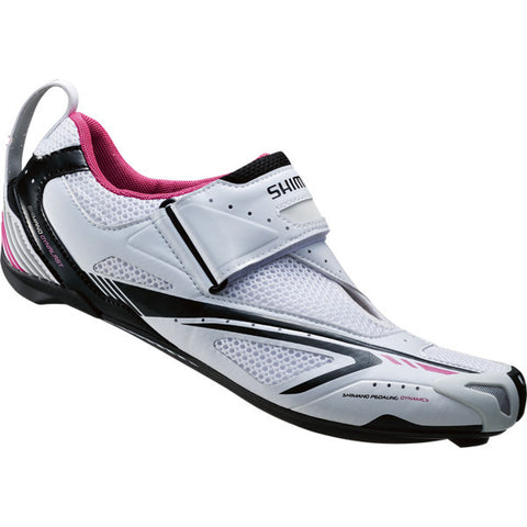 Shimano WT60 SPD-SL Shoes - White/Pink
