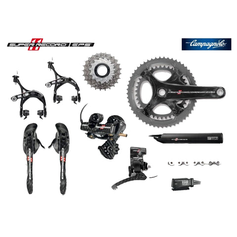 CAMPAGNOLO GROUP SET SUPER RECORD EPS 172.5/50-34 12-29