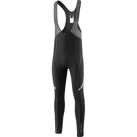 Madison Stellar Men's Bib Tights with Pad - Black
